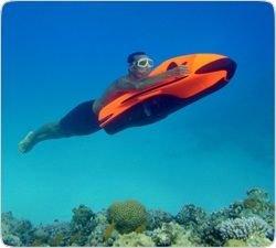Морской бобслей: Чудо-машина для скоростного дайвинга