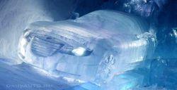 Ледяной концепт Saab Aero X представлен в Швейцарии