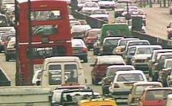 Число пробок на дорогах Лондона продолжает расти