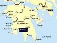 На юге Греции произошло сильное землетрясение