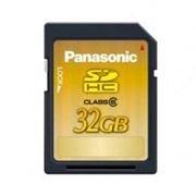 Panasonic выпустила скоростную карту памяти объёмом 32 гигабайта