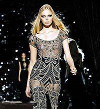 На Нью-Йоркской неделе моды дизайнеры сделали акцент на объемных нарядах