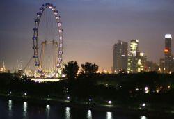 В Сингапуре открылось крупнейшее в мире колесо обозрения (фото)