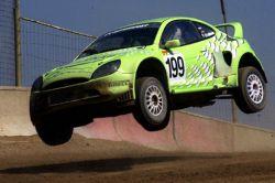 Интересные трюки на автомобиле Ford Puma (видео)