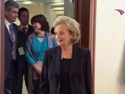 Супруге бывшего президента Франции Бернадетт Ширак вручена российская награда
