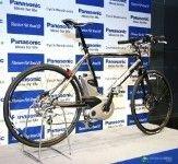 Электрический велосипед от Panasonic - педали крутятся сами