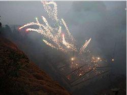 В Китае взорвался крупнейший в стране склад петард (фото)
