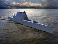 США начинают постройку эсминцев-невидимок