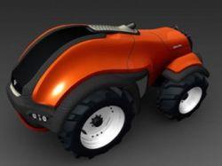 Valtra представила концепт беспилотного трактора