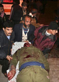 Газа: Ошибка террориста - погибло 7 человек