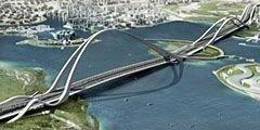 В ОАЭ построят крупнейший в мире вантовый мост