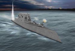 Northrop Grumman строит для ВМС США новый авианесущий эсминец