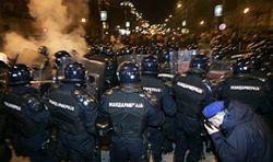 60 раненых в ходе беспорядков в Сербии