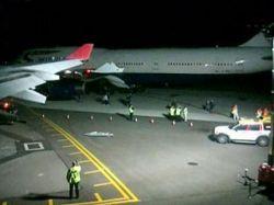Два самолета столкнулись в аэропорту Вашингтона