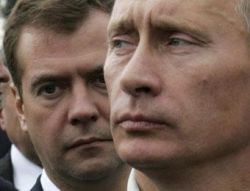 Опрос: россиянам нравится, что президент Дмитрий Медведев будет находиться под влиянием премьера Путина