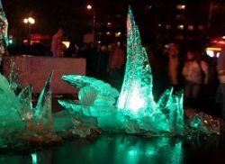 10-й Международный фестиваль ледяных скульптур в Елгаве (фото)