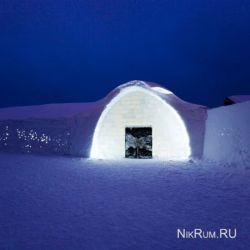 Icehotel: в Швеции построена гостиница изо льда