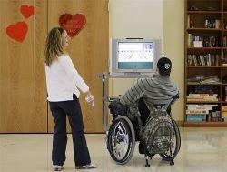 Wii-терапия в американских больницах (фото)