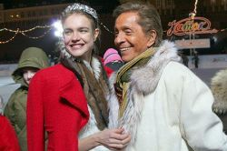 На Красной площади состоялся благотворительный каток Red Valentino (фото)