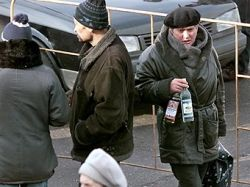 Средняя стоимость бутылки водки превысила 100 рублей