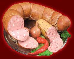 Вареная колбаса - самый популярный продукт колбасных изделий