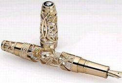 Перьевая ручка от Montblanc стоит 400 тысяч долларов