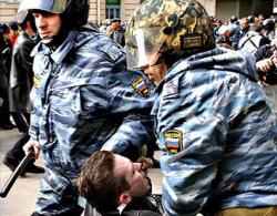 Кремль - верный борец за права человека...за границей