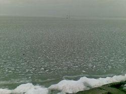 В Болгарии замерзло море