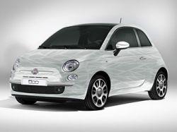 Fiat подготовил к Женеве экологически чистый хэтчбек 500