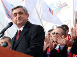 Премьер-министр Армении побеждает в первом туре президентских выборов