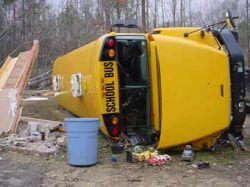 В Миннесоте разбился школьный автобус