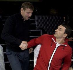 Казаки дали напутствие Султану Ибрагимову перед боем с Владимиром Кличко