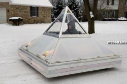 Автомобиль мечты - самодельный прототип электромобиля (видео)