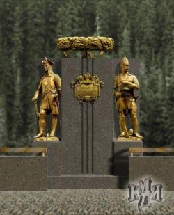Федеральное военное мемориальное кладбище откроют в 2010 году (фото)