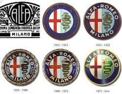 Эволюция автомобильных логотипов (фото)