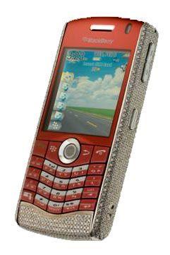 Amosu представила RIM Blackberry с бриллиантами