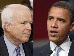 Республиканец Джон Маккейн и демократ Барак Обама побеждают на первичных выборах