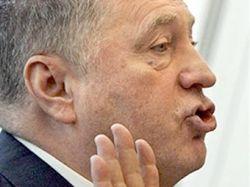 Скандал на теледебатах: Владимир Жириновский избил представителя Андрея Богданова