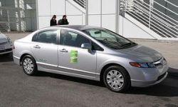 """Honda Civic GX признали \""""самым зеленым\"""" автомобилем года"""