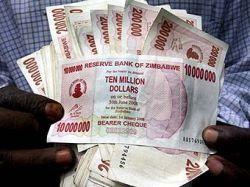 Инфляция в Зимбабве обновила мировой рекорд