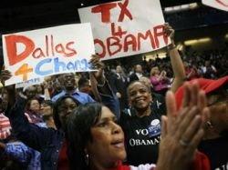 Американцы устроили овацию сморкнувшемуся Бараку Обаме