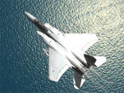 Два F-15C столкнулись в небе над Мексиканским заливом