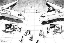 Дуэль между Boeing и Airbus за оборонный заказ США в 30 млрд долларов