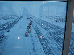 Аэропорт Екатеринбурга закрыт из-за непогоды