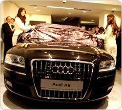 """Audi exclusive: первый в мире бутик автомобилей \""""индивидуального покроя\"""""""