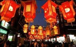 На Праздник фонарей в Китае запретили фонари