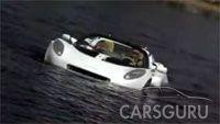 Первое видео плавающего автомобиля SQuba (видео)