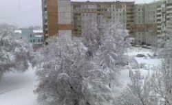 Сильные снегопады прошлись по всей России от Чeрного моря до Дальнего Востока