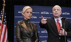 Кандидата в президенты Джона Маккейна обвинили в сексе на стороне