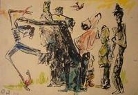 Художник Моисей Фейгин попал в Книгу рекордов Гиннесса как самый пожилой из ныне работающих